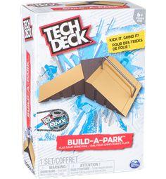 Tech Deck - Build-A-Park - Flat Ramp Grind Rail, Multicolor Tech Deck, Bmx, Real Skate, Street League, Skateboard Store, Deck Builders, Plate, Online Tutorials, Skate Park