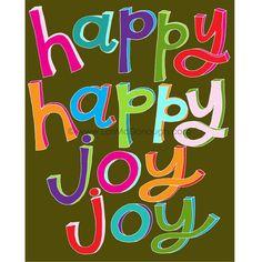 Happy happy joy joy! Birthday thank you