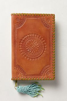 Embossed Leather Journal - anthropologie.com #anthrofave
