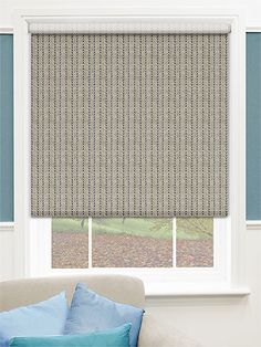 Choices Harris Linen Herringbone Roller Blind from Blinds 2go