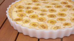 #Dégustez une #tarte #ganache à la #banane