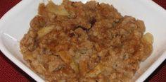 Crock Pot Apple Oatmeal