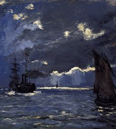 Claude Monet, Seascape