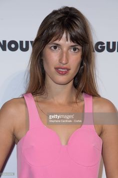Jeanne Damas attends the 'Nouvelle Vague by Lancome' party at Palais Brongniart during the Paris Fashion Week - Haute Couture Fall/Winter 2014-2015