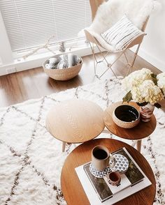 We're going hard with the coffee today (Monday) and crushing hard on this coffee table (always). Shop it now with the link in profile. #mywestelm photo by @khoffma27