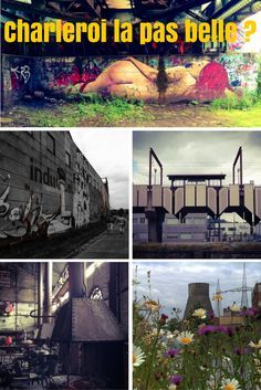 Charleroi, ville la plus laide du monde? Il faut regarder de plus près un peu...
