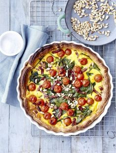 Diner Recipes, Frittata, Vegetable Pizza, Healthy Recipes, Healthy Food, Recipies, Veggies, Food And Drink, Lunch