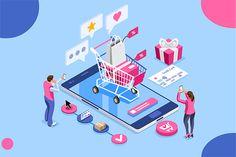 credit card illustration credit card i - Web Banner, Banners Web, Bts Nrc, Le Couple Parfait, Selling On Instagram, Custom Web Design, Vector Design, Ecommerce Website Design, Isometric Design