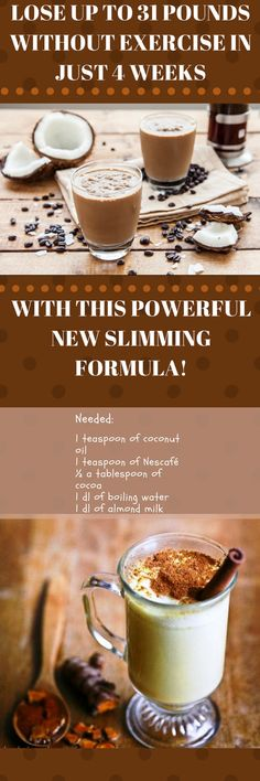 Lose Up To 31 Pounds Without Exercise In Just 4 Weeks With This Powerful New Slimming Formula!