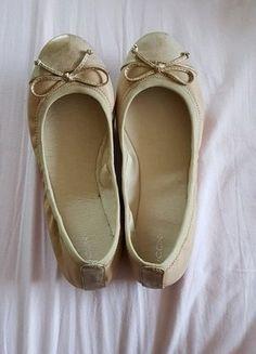 Kaufe meinen Artikel bei #Kleiderkreisel http://www.kleiderkreisel.de/damenschuhe/ballerinas/150918832-neue-ballerinas-in-altrosa-gr-38