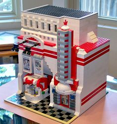 Lego Arizona Route 66 Inspired Art Deco Theater 01 | by 60sfunnycars