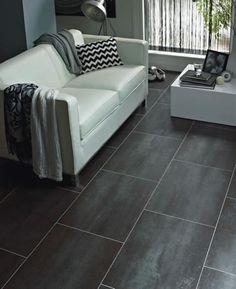 Karndean flooring - slate effect vinyl tiles Karndean Flooring, Vinyl Tile Flooring, Luxury Vinyl Flooring, Luxury Vinyl Tile, Vinyl Tiles, Inexpensive Home Decor, Cheap Home Decor, Diy Home Decor, Room Decor
