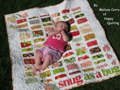 So many cute baby quilts.