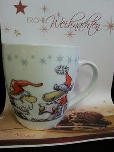 großer KAFFEEBECHER / TASSE - Weihnachten