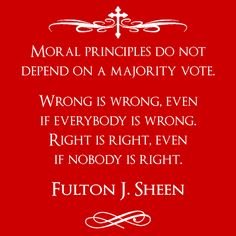 Fulton Sheen - Moral Principles - Hoodie – The Mad Papist