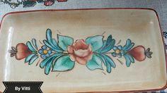 Porcelana Pintada à mão por Vitti