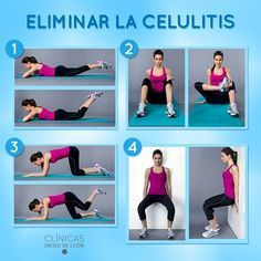 EJERCICIOS CELULITIS - Buscar con Google Yoga Fitness, Fitness Tips, Health Fitness, Pilates Workout, Butt Workout, Cardio, Acupuncture, Ideal Body, Yoga Routine