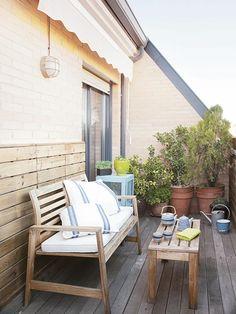 Tu paraíso particular: cómo decorar la terraza
