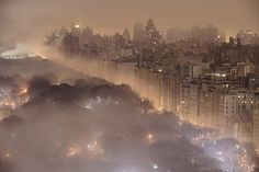 Foggy Night, New York City