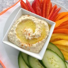 An easy 5-Ingredient recipe for classic Creamy Greek Garlic Dip, Skordalia.