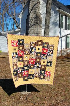 Sew in Love {with Fabric}: Kids' Quilts Blog Hop: Day 4: Floating Boxes tutorial