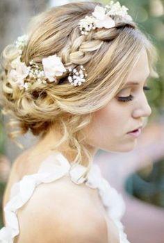 hellenistic bride hair