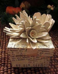 Egg carton flowers - Jane LaFazio tutorial