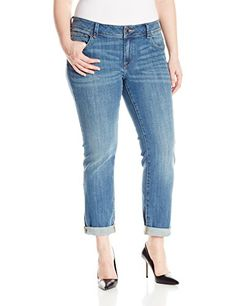 Lucky Brand Womens PlusSize Georgia StraightLeg In Sarasota Sarasota 22W -- Check out the image by visiting the link.