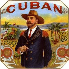Cuban CIGAR LABEL