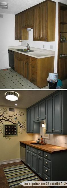 cheap kitchen designs. 33 Marvelous Cheap Kitchen Remodel For Prettier Ideas Before And After  Teeny Tiny Kitchen Makeover What An Amazing