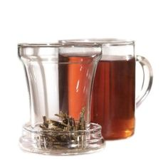 Primula 12-Ounce Personal Tea Maker Set, Clear: Stovetop, Dishwasher and Microwave Safe!