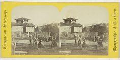 Charles Gerard | Vue prise du grand champ des morts, Constantinople, Charles Gerard, 1860 - 1880 |
