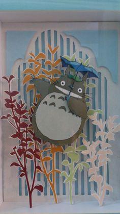 Totoro - Shadow Box by NaguiBox