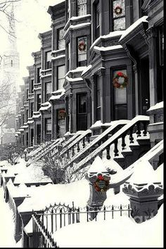 Snowy Day, Brooklyn New York