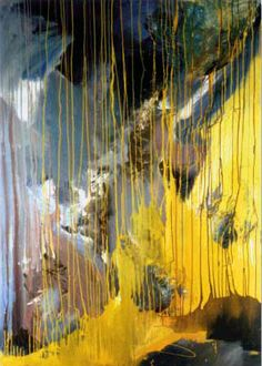 without title, mixed media on canvas, 195 x 140 cm, 1982 Hermann Theis