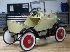 1929 Ford SteelCraft Pedal Car.
