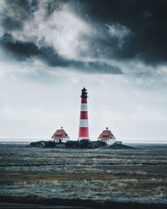 Storm over the lighthouse ~ Germany by Johannes Hulsch on Nature Pictures, Cool Pictures, Strange Weather, Marine Love, Lighthouse Pictures, Water Tower, Beautiful Lights, Nature Photography, Dramatic Photography