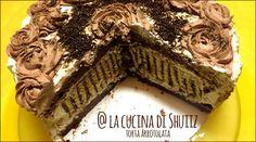 Quest'anno per il mio compleanno ho voluto sperimentare...avevo visto in rete alcune foto di questa torta arrotolata dal risultato spettacolare e mi sono d