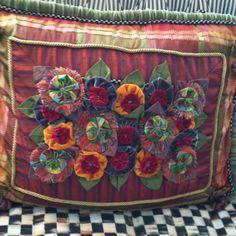 MacKenzie & Childs pillow