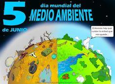 Día mundial del medio ambiente, el 5 de junio