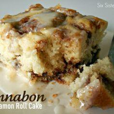 Cinnabon Cinnamon Roll Cake