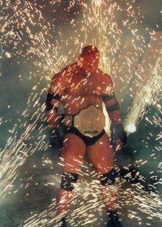 Ancienne WWE Superstar - Goldberg, en tant que WCW Champion