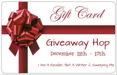 I Am A Reader, Not A Writer: Gift Card Giveaway Hop - Just in Time for your Last Minute Christmas Shopping