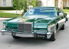 "1976 Lincoln Continental Mark IV ""Jade Luxury Group Edition"" #Lincoln #Continental #MarkIV #JadeLuxuryEdition #JadeLuxuryGroup…"