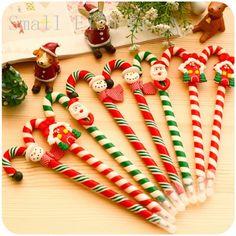 #aliexpress, #Christmas, #Snowman, #ceramic, #Cartoon, #Christmas, #Santa, #Claus, #Crutches, #style, #ballpoint, #office, #school, #supplies