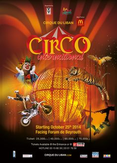 """""""#Circo"""", originating from the #Latin #American #Countries, takes us from the Old #South American circuses to the #Modern stage #performances – A mysterious and warm #concept, combining #Laughter and Jolly #atmosphere! See Full Information at:http://bit.ly/1qMzwMB"""