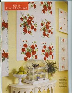 Tablecloth canvas