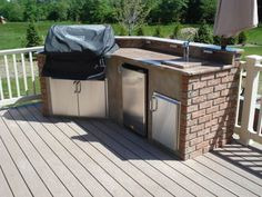 The Modern Outdoor Kitchen Actually Beats Indoor In Many Respects Description From Anotheramazingdeck