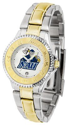 Northern Arizona University- Lumberjacks Competitor - Two-tone Band - Ladies - Women's College Watches by Sports Memorabilia. $87.08. Makes a Great Gift!. Northern Arizona University- Lumberjacks Competitor - Two-tone Band - Ladies