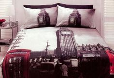 I am re-doing my room with a british theme and i really want to incorporate this!
